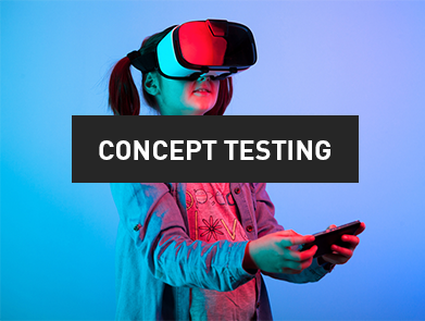 Concept testing market research software from Rival Technologies
