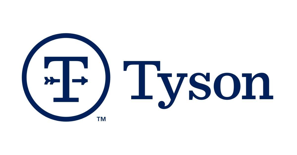 Tyson Foods logo- rectangle